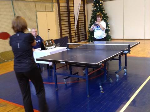 I Międzyzakładowy Turniej Tenisa Stołowego Pod Patronatem Prezes MOSiR w Zabrzu