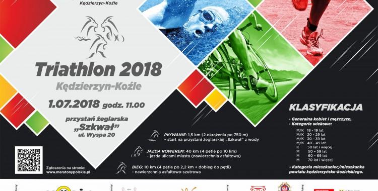 Ogólnopolskie zawody triathlonowe o puchar Prezydenta Miasta Kędzierzyna - Koźla